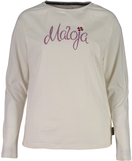 Maloja SotchaM. Langærmet T shirt Damer, vintage white